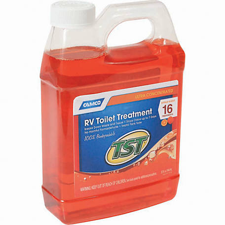 Camco TST Orange Holding Tank Chemical, 32 oz.