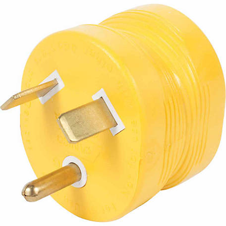 Camco 30M/15F AMP PowerGrip Adapter