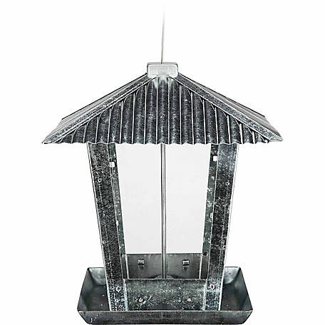 Royal Wing Tin Roof Hopper Bird Feeder at Tractor Supply Co
