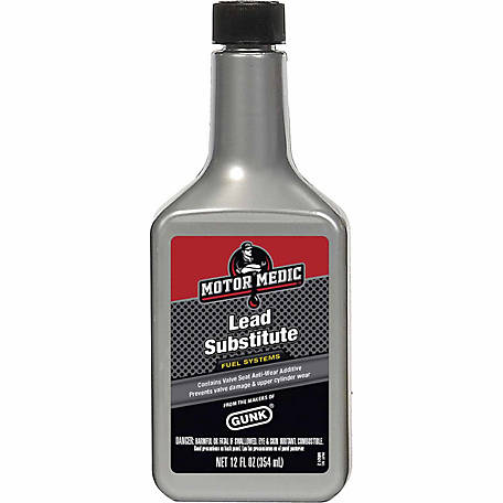 Motor Medic Lead Substitute for Off-Road Use, 12 oz. Bottle