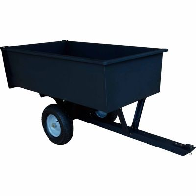 Groundwork Tow Behind Dump Cart 1 200 Lb 17 Cu Ft Capacity At Tractor Supply Co
