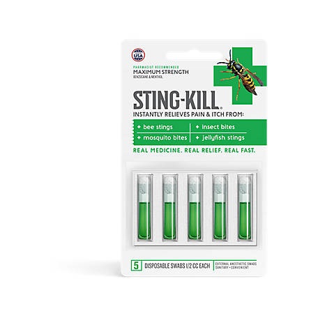 Sting-Kill Swabs, Pack of 5, 5000