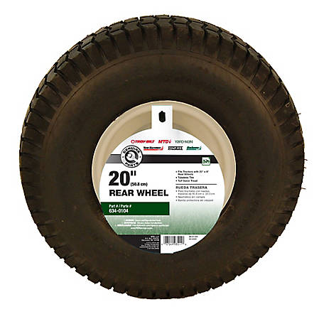 MTD 20 in  x 8 in  Rear Tractor Tire at Tractor Supply Co