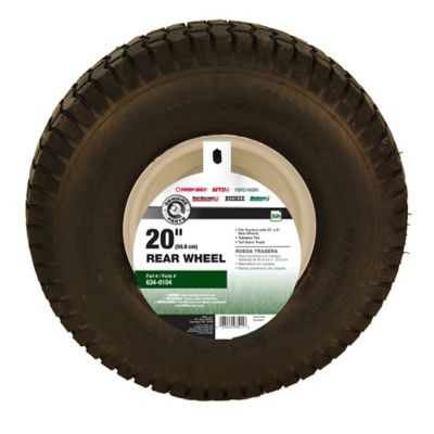 Mtd 20 In X 8 In Rear Tractor Tires 490 327 0002 At Tractor Supply Co