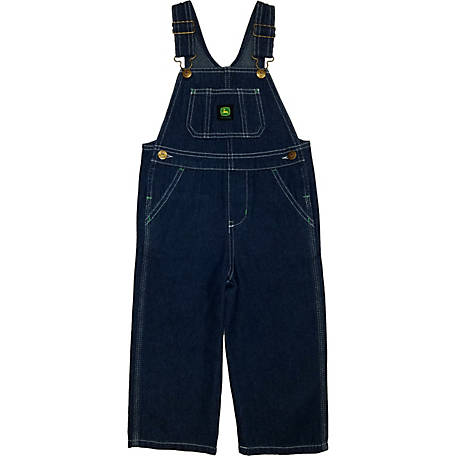 John Deere Toddler Boy's Denim Overall