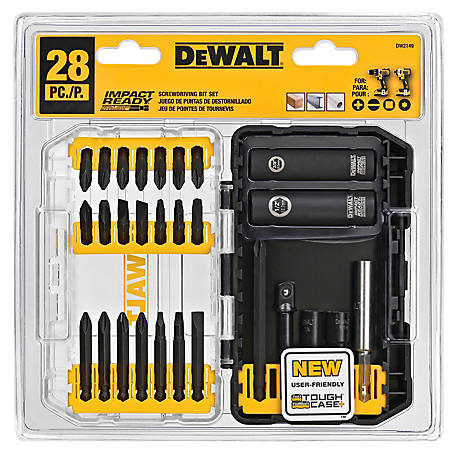 DeWALT 28 pc. Impact Ready Screwdriving Set, DW2149
