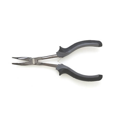 JobSmart 6 in. Mini Bent Nose Pliers