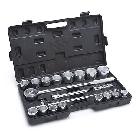 JobSmart 20 Piece Diver 3/4 in. Socket Set