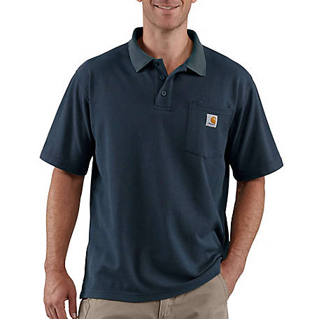 Carhartt Men's Contractor's Work Pocket Polo Original Fit, K570