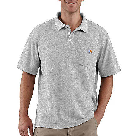 Carhartt Men S Contractor S Work Pocket Polo Original Fit At Tractor
