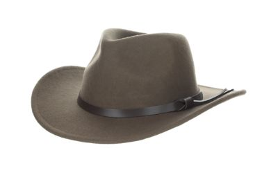 1f8bc63b432 Dorfman Pacific Wool Felt Crushable Outback Hat