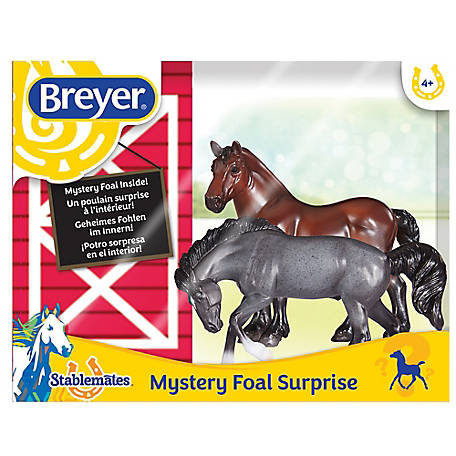 Breyer Mystery Foal Surprise Horse Box Set 1 32 Scale 5938 At Tractor Supply Co