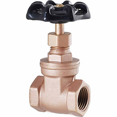 LDR 3/4 in. I.P.S. Gate Valve Heavy-duty, Low Lead