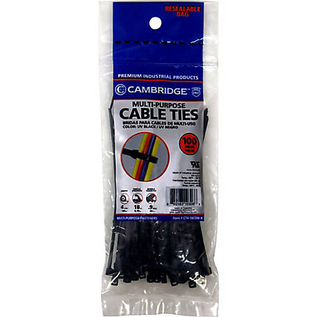 Cambridge Cable Tie, 4 in.