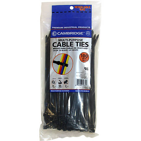 Cambridge Cable Tie, 8 in.