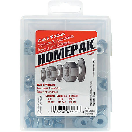 Hillman Nuts and Washers Assortment Kit
