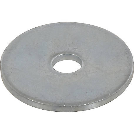 Hillman Zinc-plated Standard Fender Washer, 1/4 in. Inner Dia. x 1 in. Outer Dia.