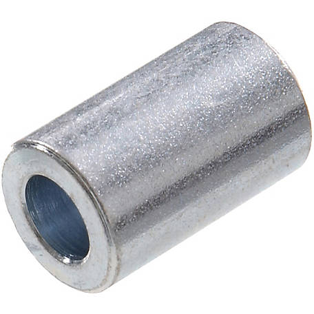 Hillman Zinc-plated Steel Bushings, 1/4 in. Inner Dia. x 5/8 in. Outer Dia. x 1/2 in. Length