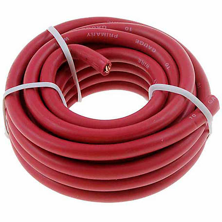 Cambridge Wire, Red, 10 AWG, 8 ft.