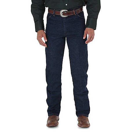 Wrangler Men's Cowboy Cut Stretch Regular Fit Jean
