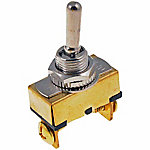 Cambridge Toggle, Brass, 20A, 12V DC, 240W