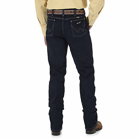 Wrangler Men's Cowboy Cut Silver Edition Slim Fit Jean