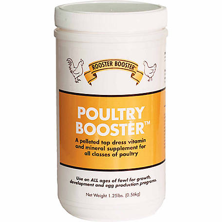 Rooster Booster Poultry Booster, 1.25 lb.