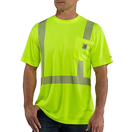 Carhartt Force Hi-Vis Short-Sleeve Class 2 T-Shirt