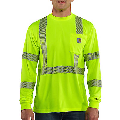 Carhartt Force Hi-Vis Long-Sleeve Class 3 T-Shirt
