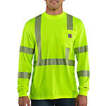Carhartt Force High-Visibility Long-Sleeve Class 3 T-Shirt