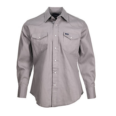 bcc4bbe857 Wrangler Men s Western Work Shirt at Tractor Supply Co.
