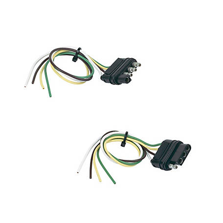 Hopkins Towing Solutions 4-Wire Flat Set, 48175 at Tractor Supply Co. | Tsc 4 Pin Flat Trailer Wiring Diagram |  | Tractor Supply Co.