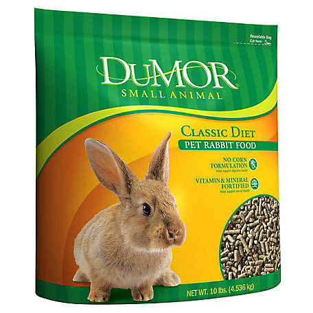 DuMOR Classic Diet Pet Rabbit Food, 10 lb. Bag