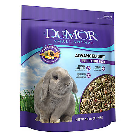 DuMOR Advanced Diet Pet Rabbit Food, 10 lb. Bag