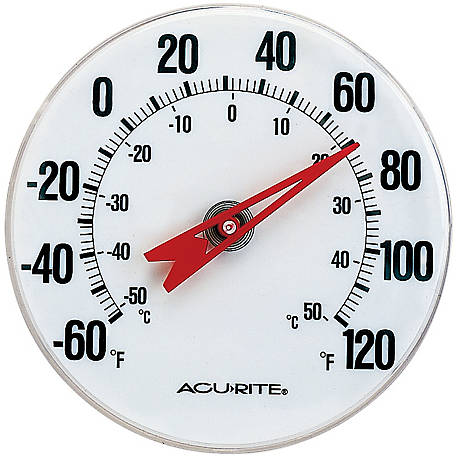 AcuRite 5 in. Indoor or Outdoor Thermometer