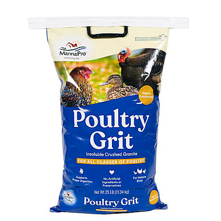 Manna Pro Poultry Grit, 25 lb , 1000202 at Tractor Supply Co