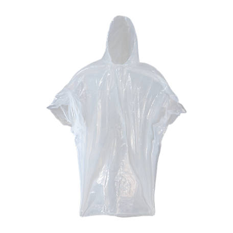 Blue Mountain Economy Clear Poncho