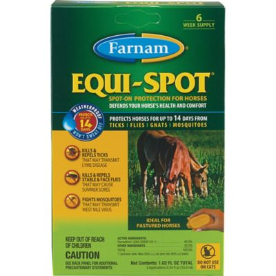 Farnam Equi-Spot Spot-On Fly Control; 10ml.; Pack of 3