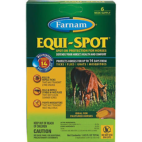Farnam Equi-Spot Spot-On Protection for Horses