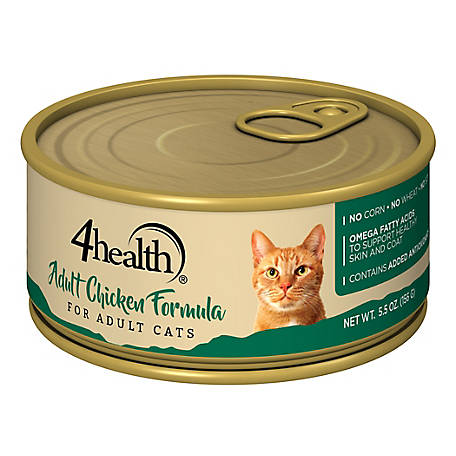 4health Original Cat Adult Chicken Formula Cat Food, 5.5 oz. Can