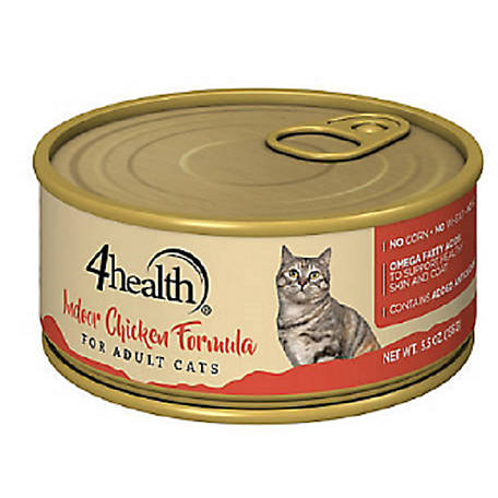 4health Original Cat Indoor Chicken Formula Cat Food, 5.5 oz. Can
