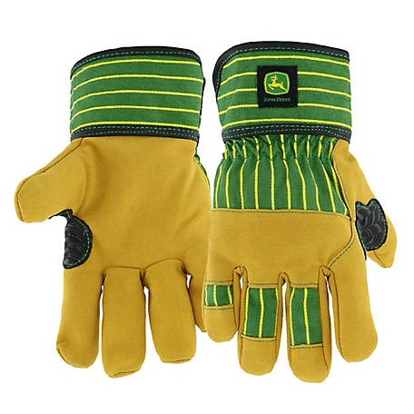 John Deere Children's Leather Gloves