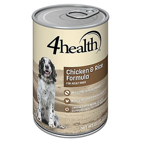 4health Original Chicken & Rice Formula for Adult Dogs, 22 oz. Can