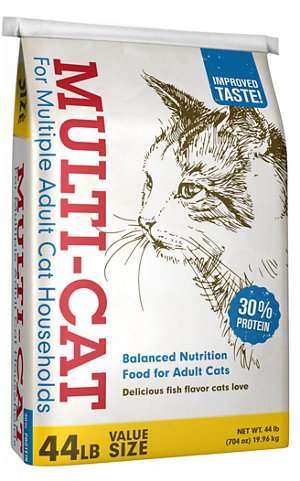 Multi-Cat Dry Cat Food, 40 lb. Bag at Tractor Supply Co.