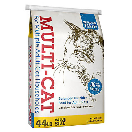 Multi-Cat Dry Cat Food, 44 lb. Bag