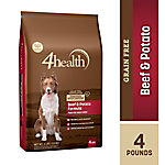 4health Grain-Free Beef & Potato Dog Food, 4 lb.