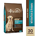4health Grain Free Whitefish & Potato Formula Dog Food, 30 lb. Bag