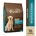 4health Grain-Free Whitefish & Potato Formula Dog Food, 16 lb. Bag