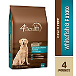 4health Grain-Free Whitefish & Potato Formula Dog Food, 4 lb. Bag