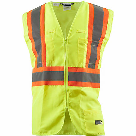 C.E. Schmidt Class 2 Hi-Vis Multi-Color Safety Vest